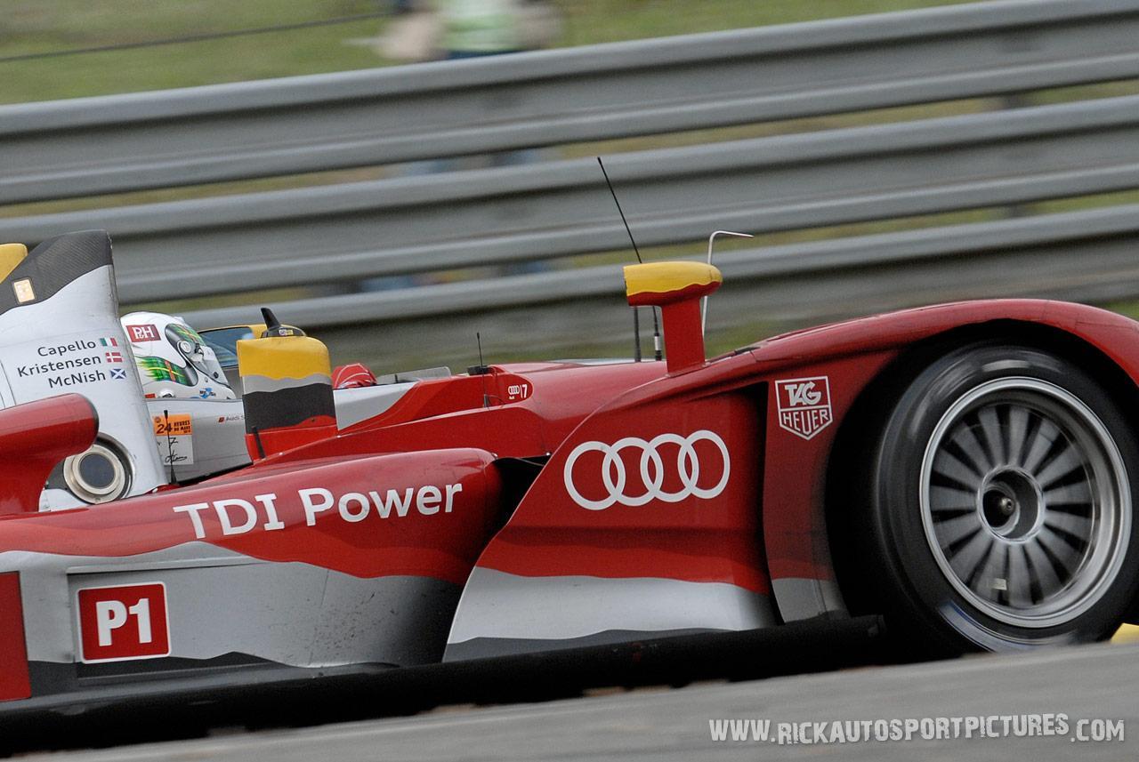 Allan McNish Audi Le Mans 2010
