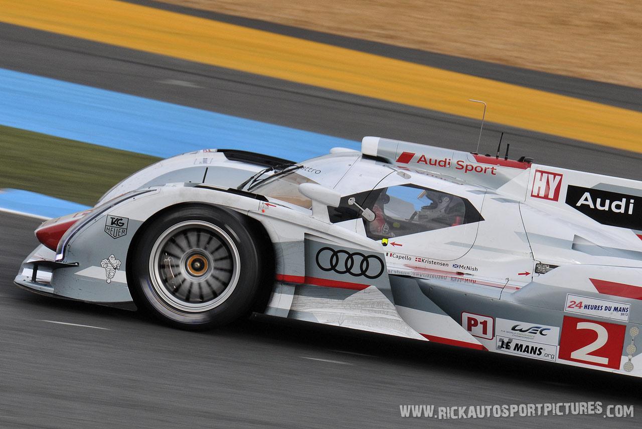 Allan McNish Audi Le Mans 2012