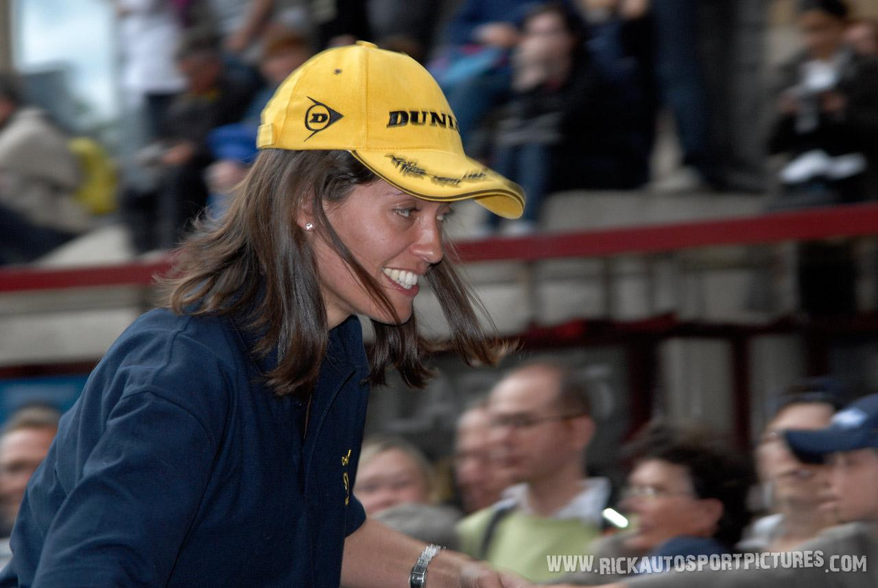 Amanda Stretton Le Mans 2008