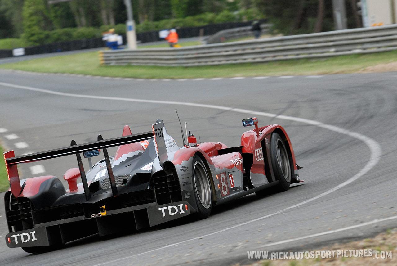 Benoit treluyer Audi Le Mans 2010