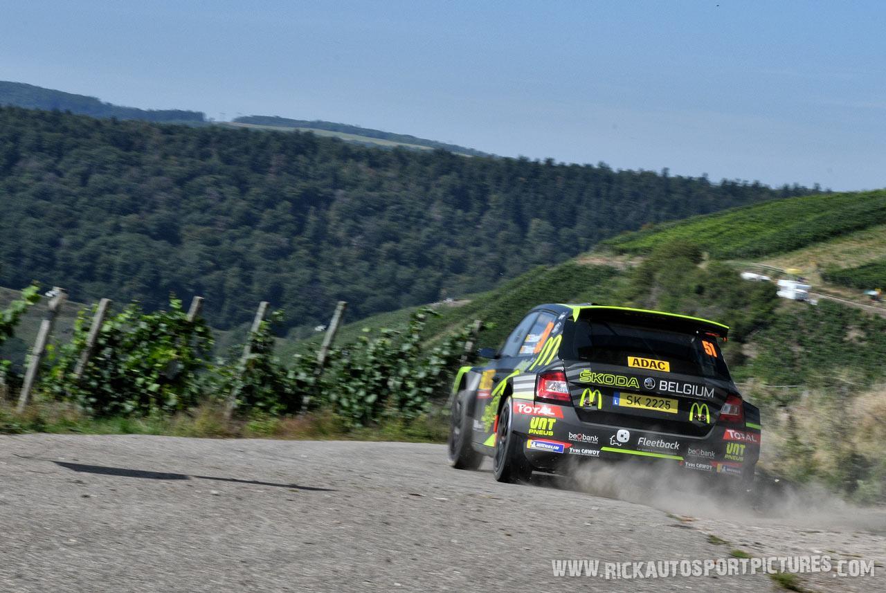 Sébastien Bedoret deutschland rally 2019