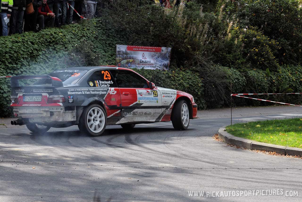 Kurt Braeckevelt BMW East Belgian Rally 2015
