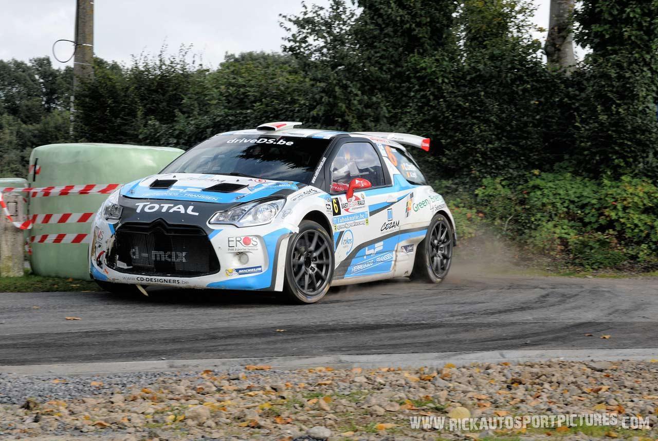 Cedric Cherain East Belgian Rally 2015