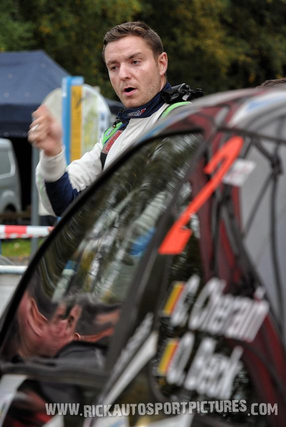 Cedric Cherain East Belgian Rally 2017