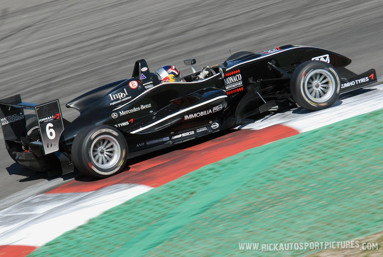 Stefano Coletti Nurburgring 2009
