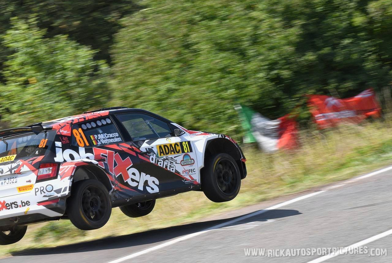 Pieter Jan Michiel Cracco deutschland rally 2019