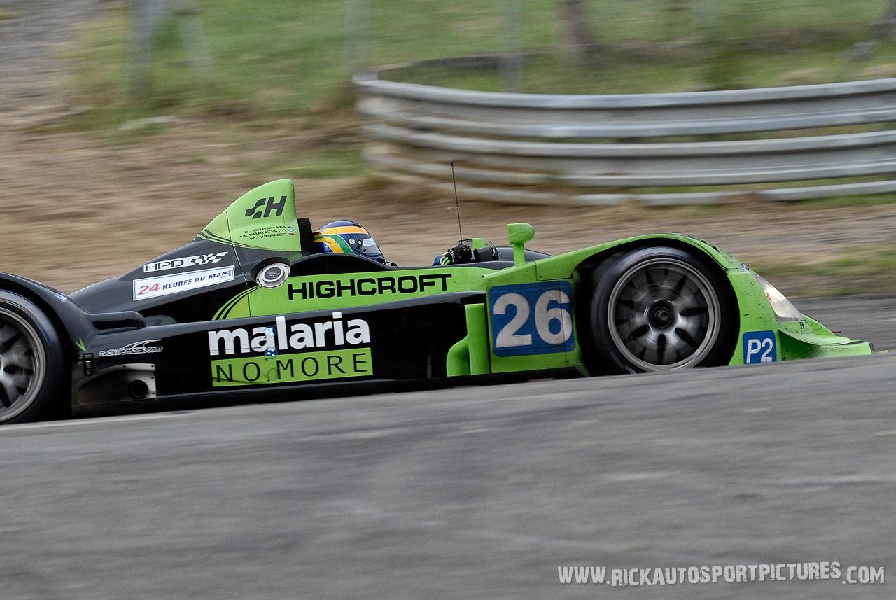 David Brabham Le Mans 2010