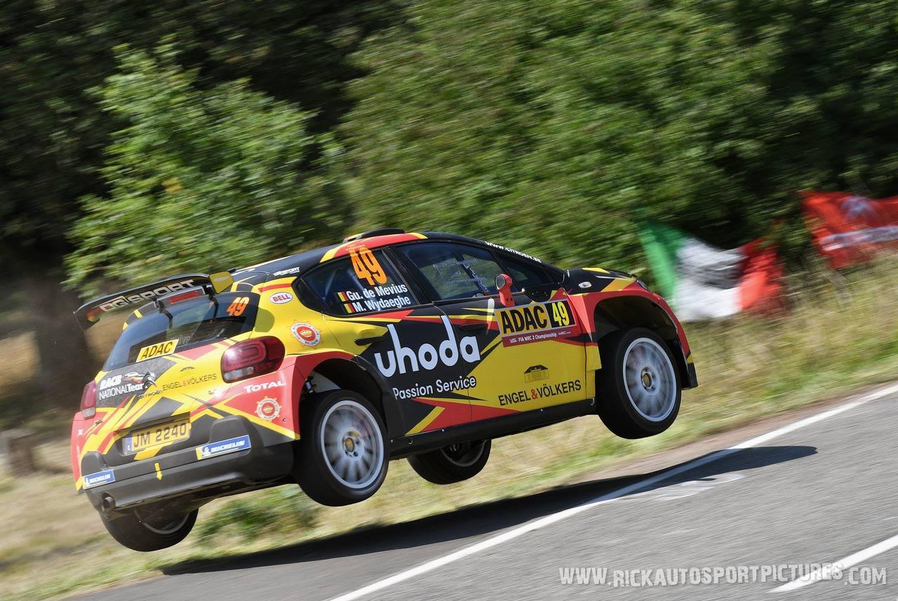 Guillaume De-Mevius-deutschland-Rally-2019