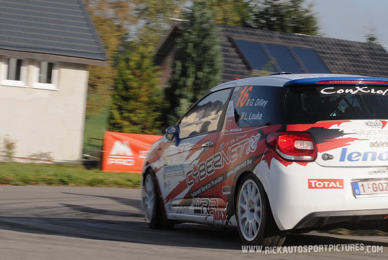 Guillaume Dilley East Belgian Rally 2015