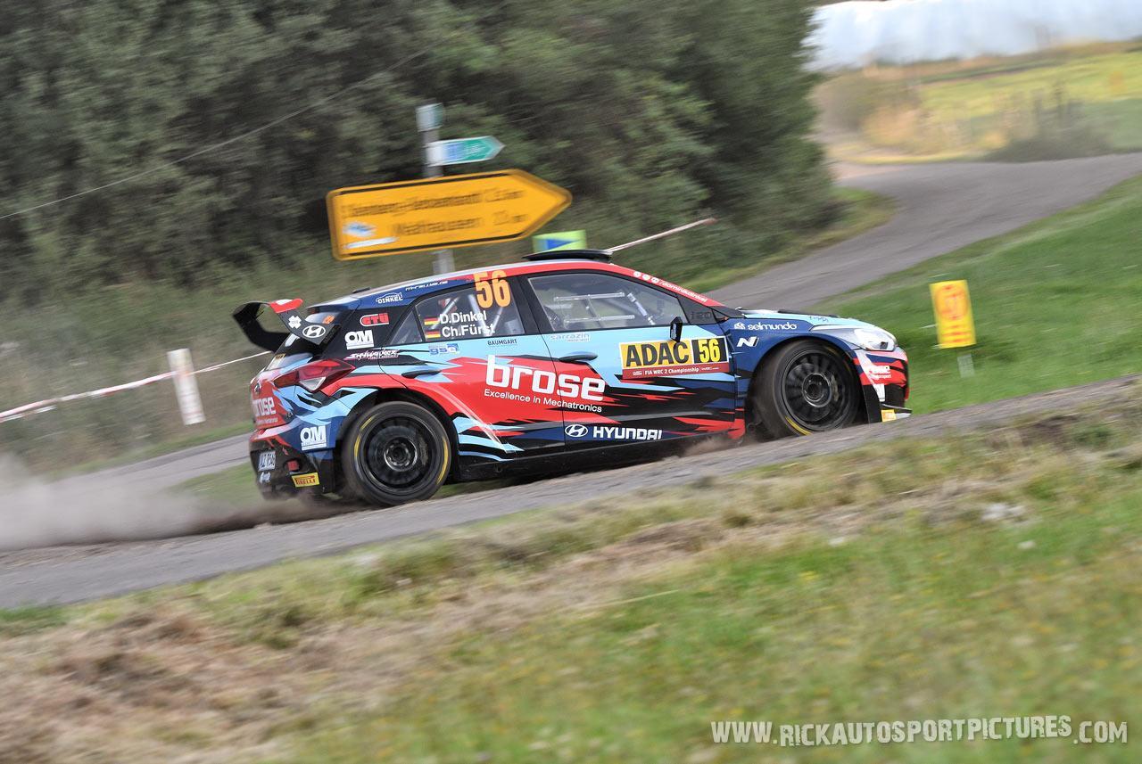 Dominik Dinkel Deutschland Rally 2019