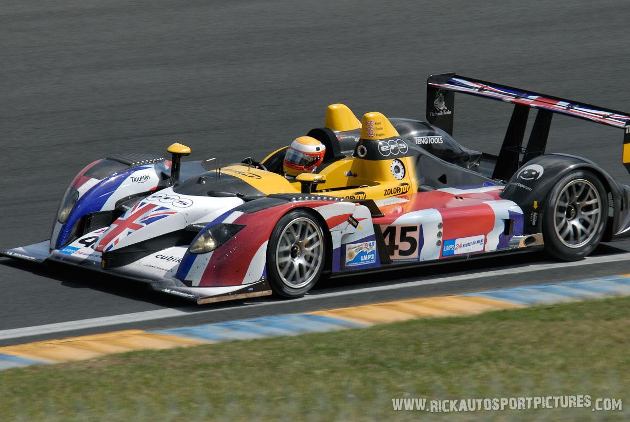 Embassy Racing Johnny Kane le Mans 2008
