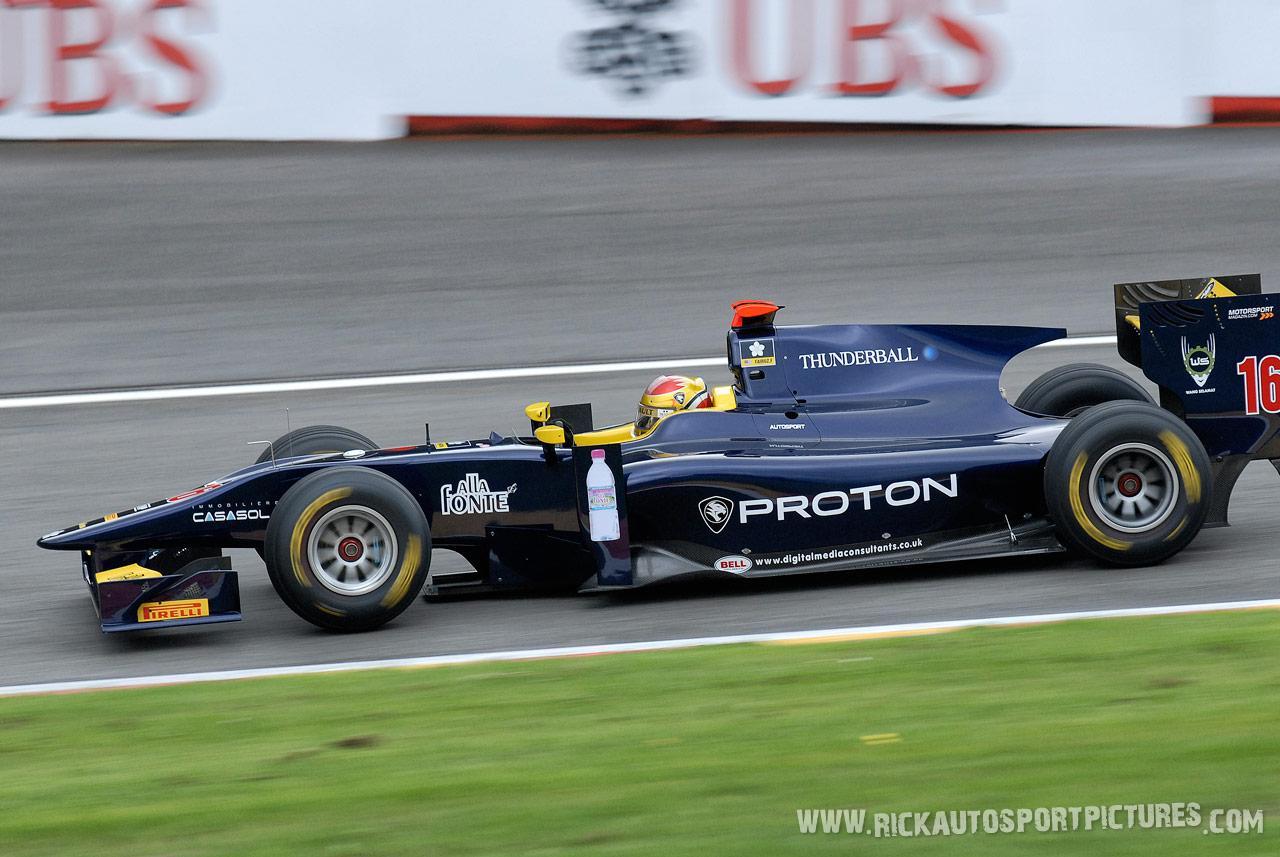 Fairuz Fauzy GP2