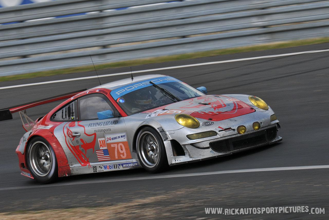 Flying Lizard Porsche le mans 2012