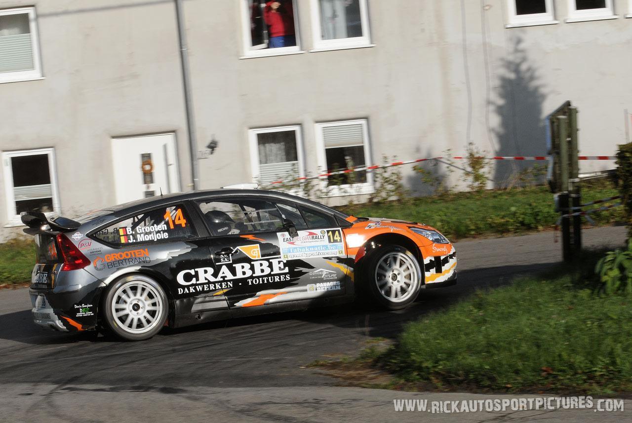 Bertrand Grooten East Belgian Rally 2015
