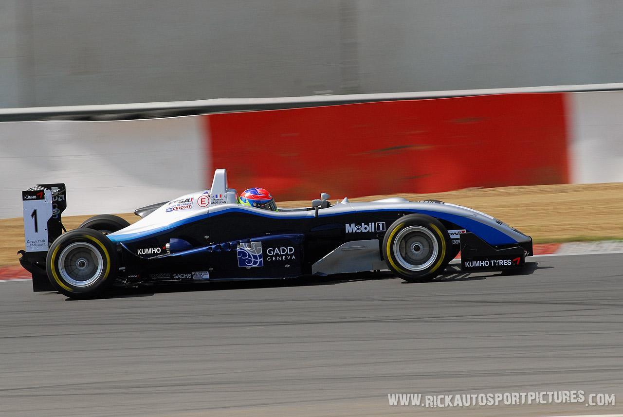 Romain Grosjean Zolder 2007