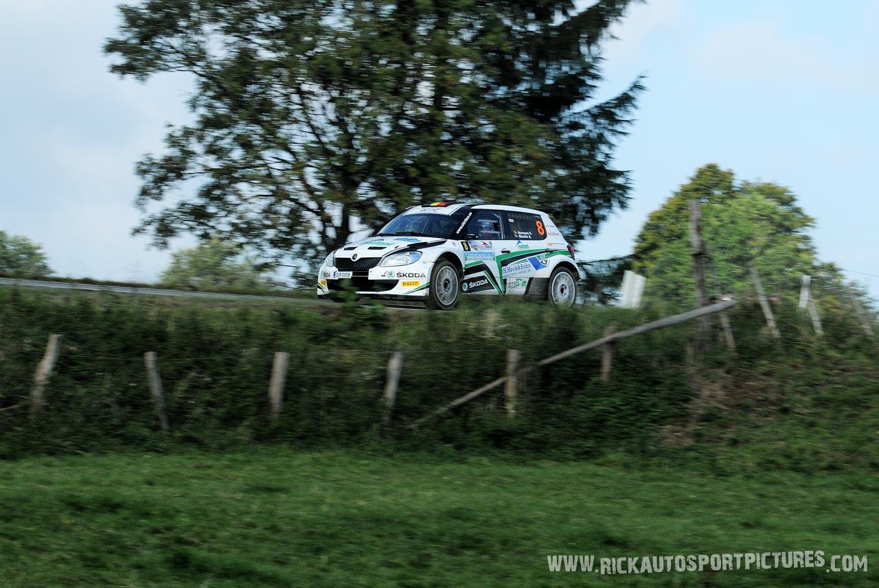Stephan Hermann East Belgian Rally 2015