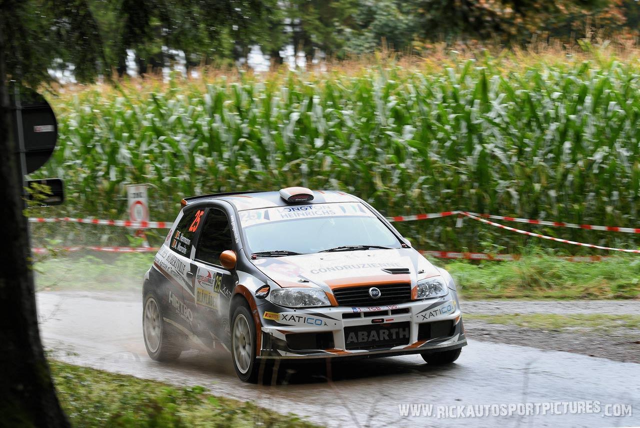 Stephan Hermann East Belgian Rally 2017
