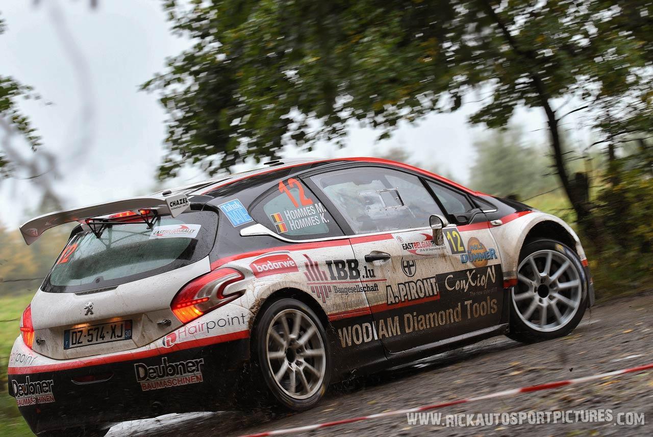 Hommes East Belgian Rally 2017