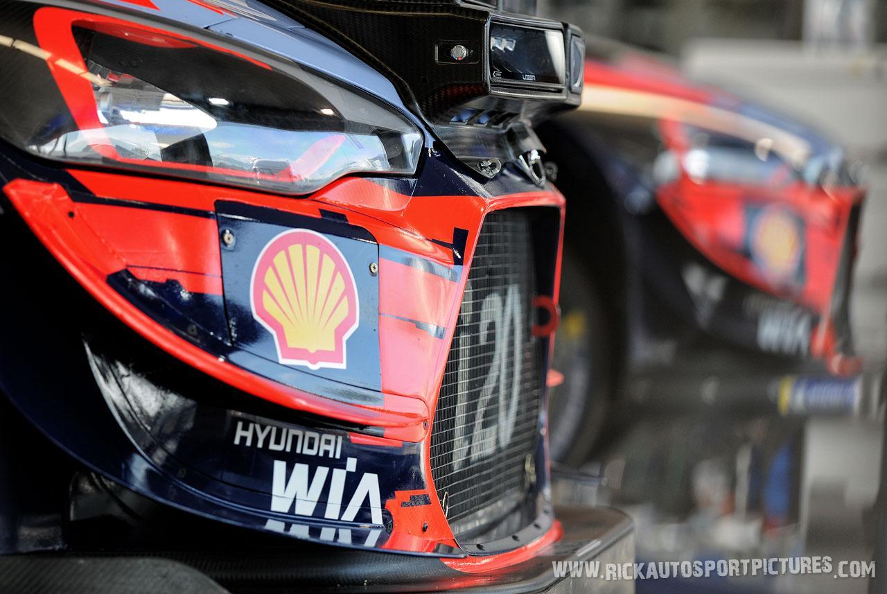 Hyundai WRT Deutschland Rally 2019