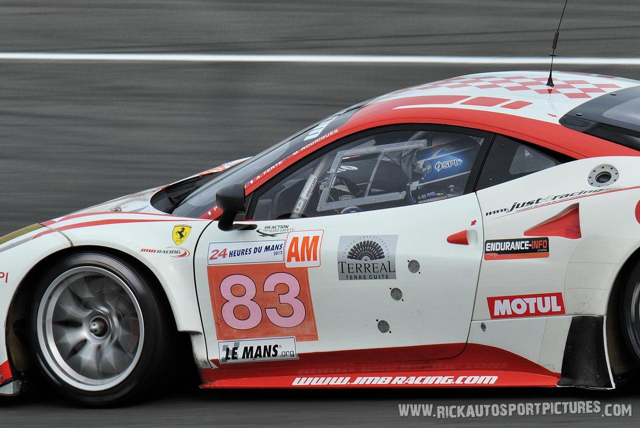 JMB Racing Le Mans 2012
