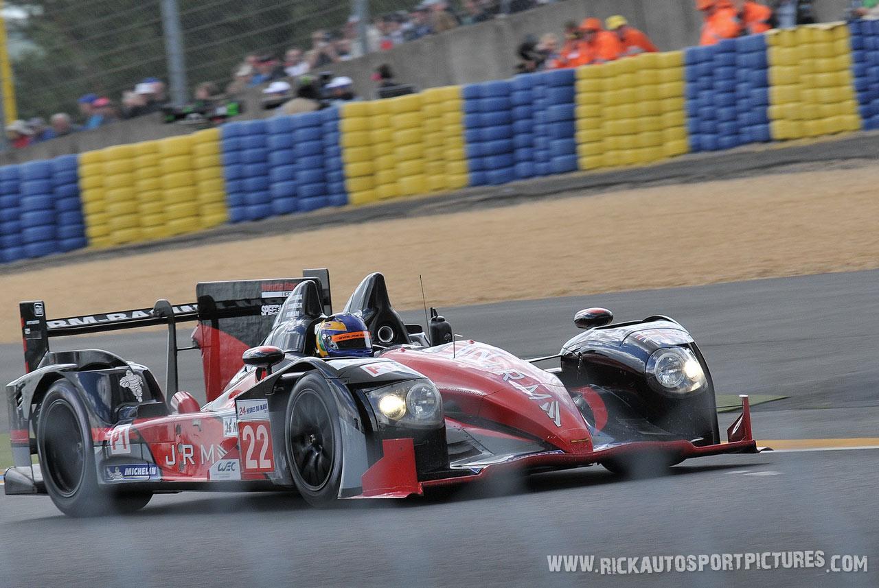 David Brabham JRM HPD le mans 2012