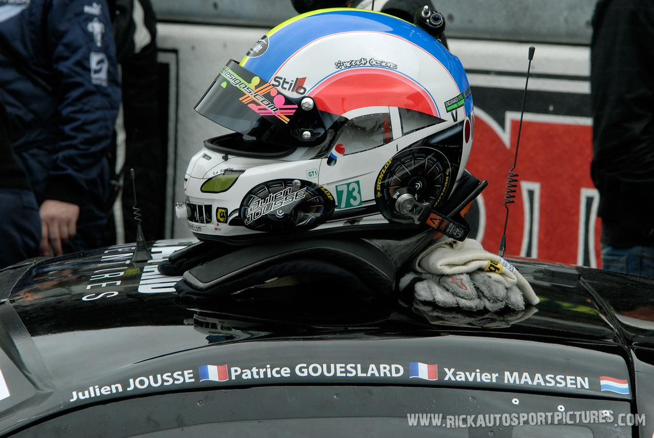 Julien Jousse Le Mans 2010