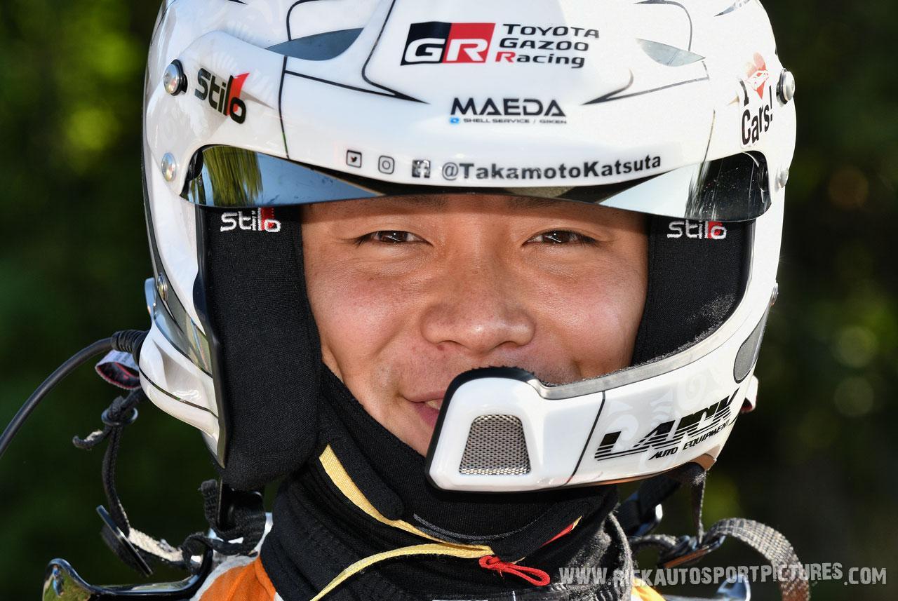 Takamoto Katsuta Deutschland Rally 2019