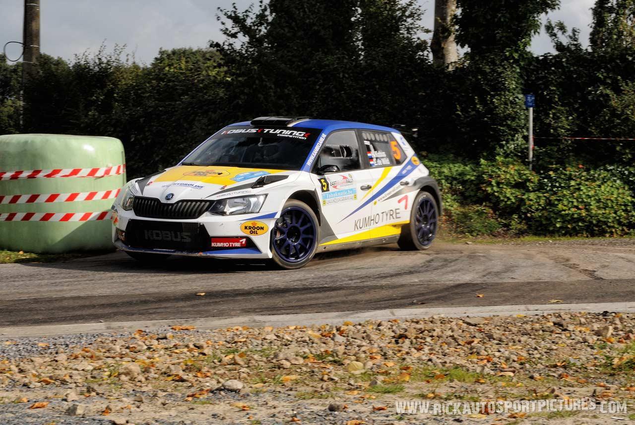 Hermen Kobus east belgian rally 2015