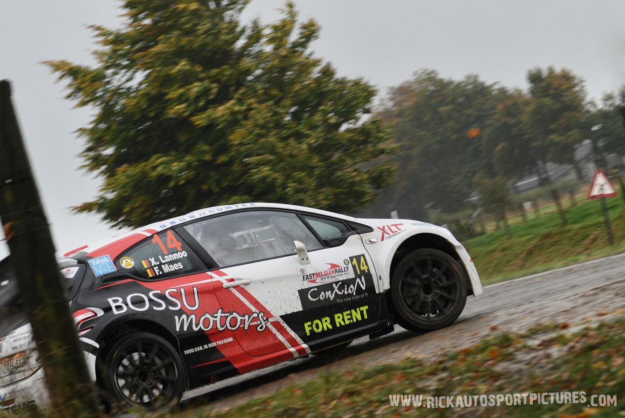 Xavier Lannoo East Belgian Rally 2017