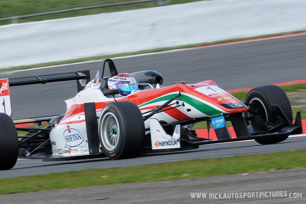Nicolas Latifi F3 2014