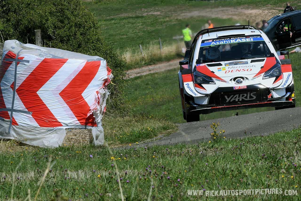 Jari-Matti Latvala Deutschland Rally 2019