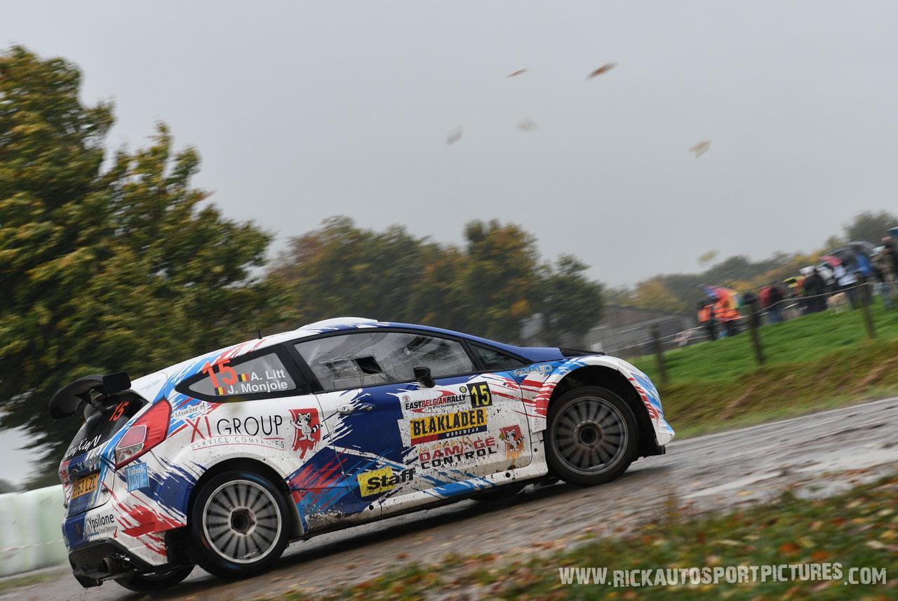 Alain Litt East Belgian Rally 2017