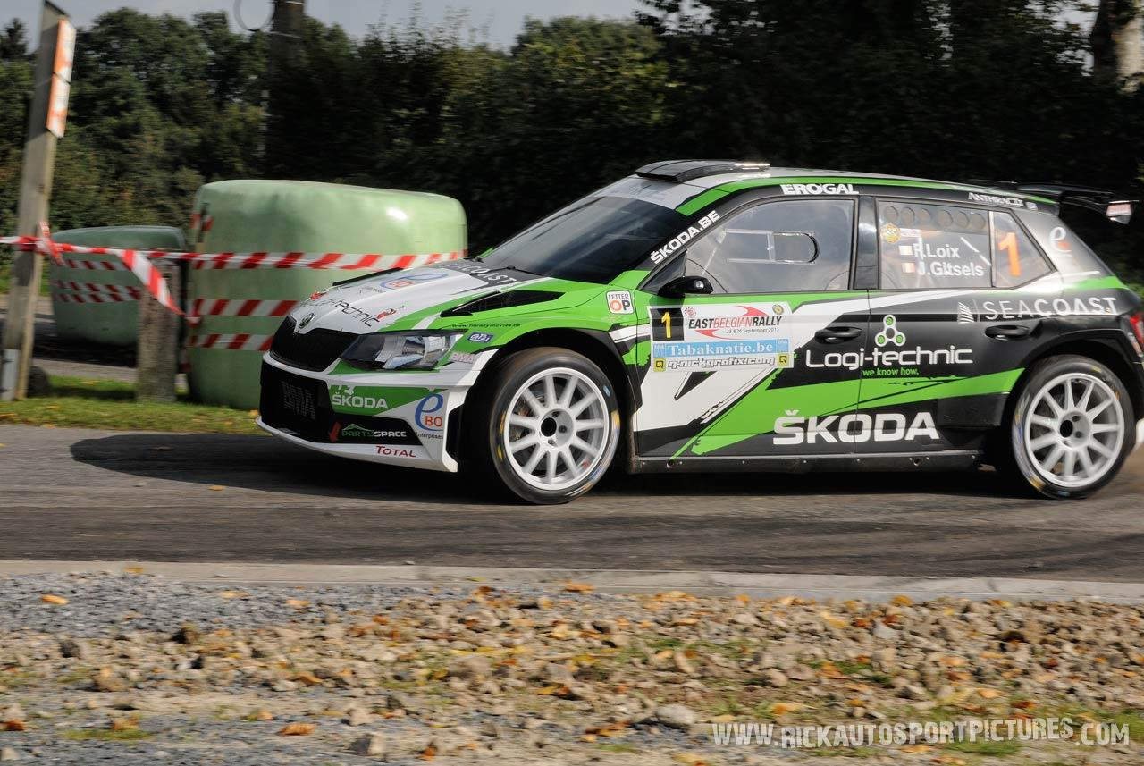 Freddy Loix East Belgian Rally 2015