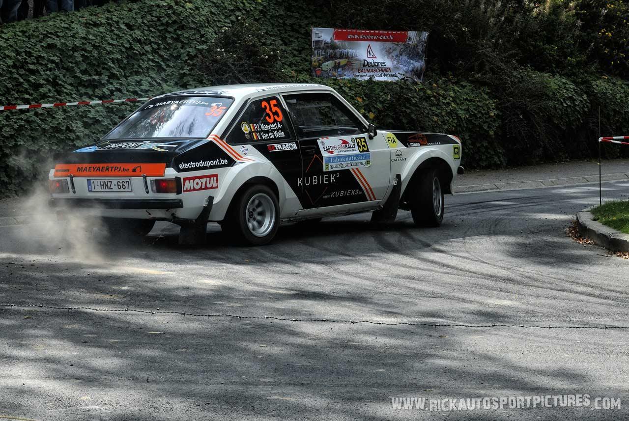 Pieter-Jan Maeyaert East Belgian Rally 2015