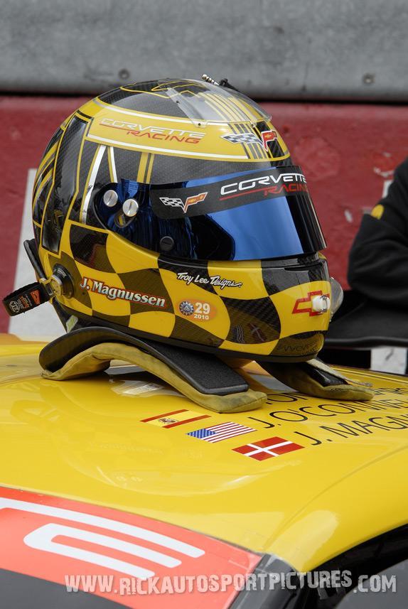 Jan Magnussen Corvette Le Mans 2010