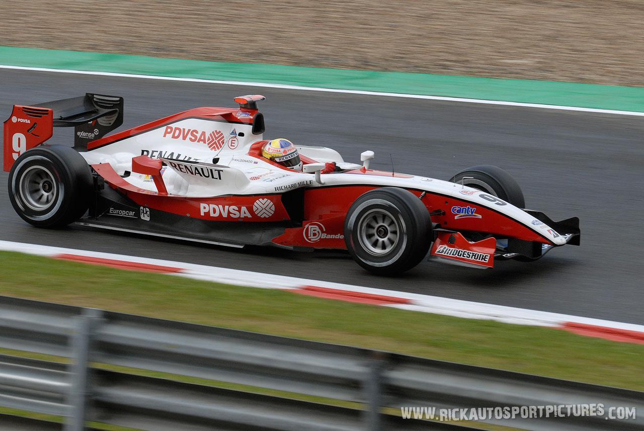 Pastor Maldonado, GP2 2009