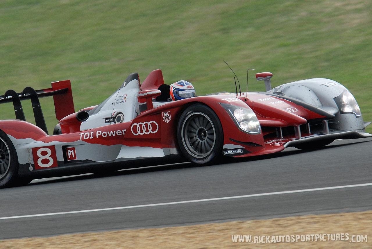 Marcel Fassler Audi Le Mans 2010