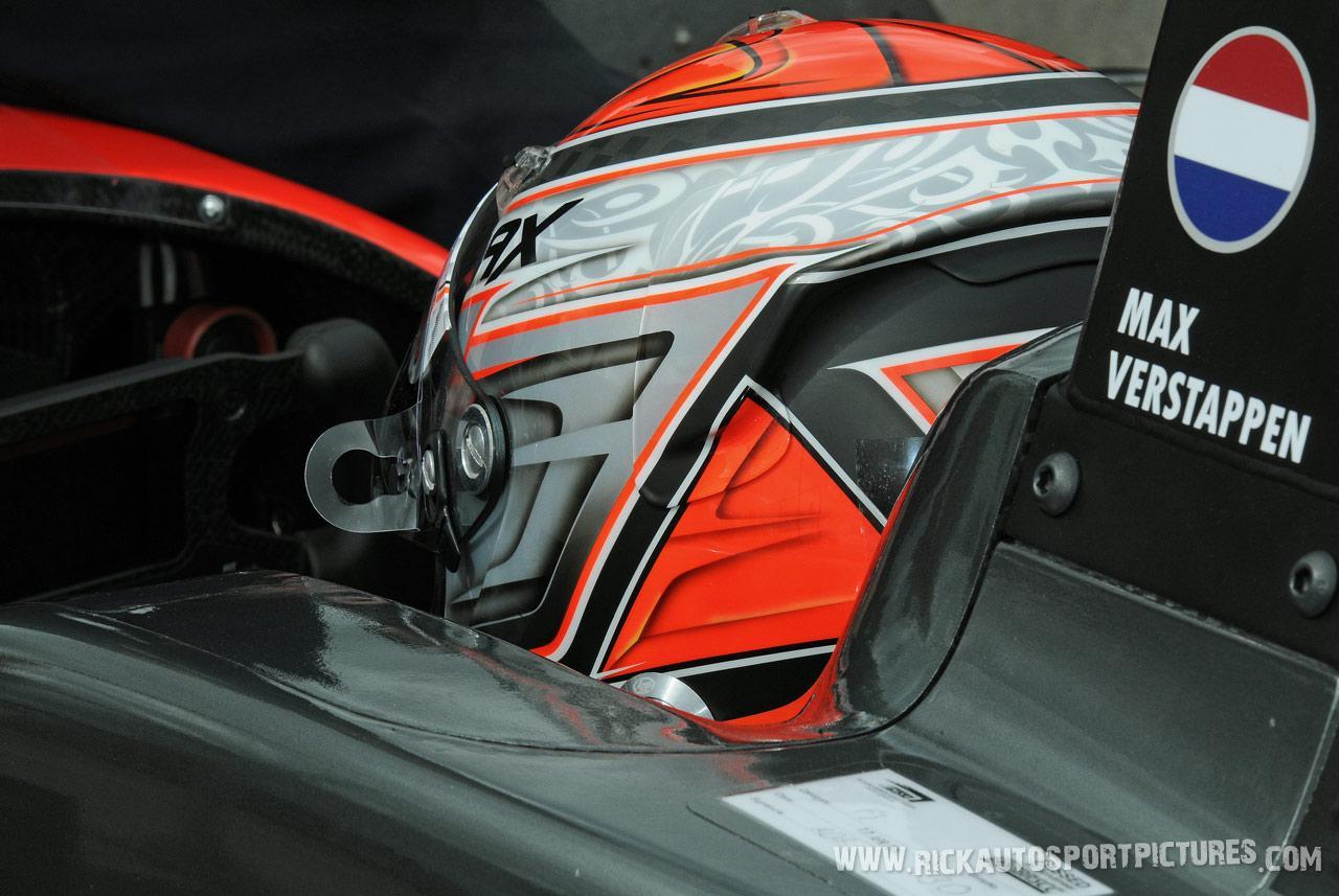 Max Verstappen F3 Silverstone 2014
