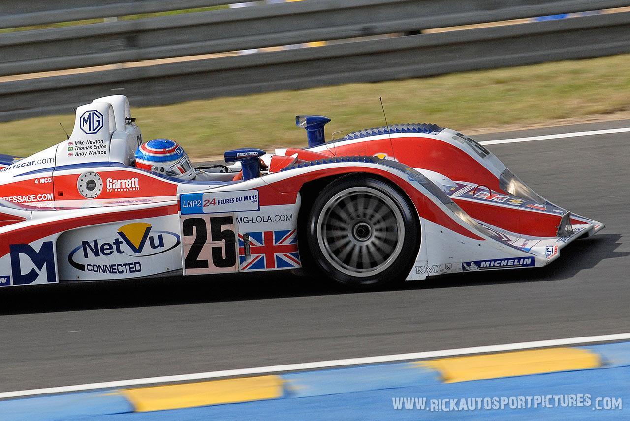 Mike Newton RML Le Mans 2008