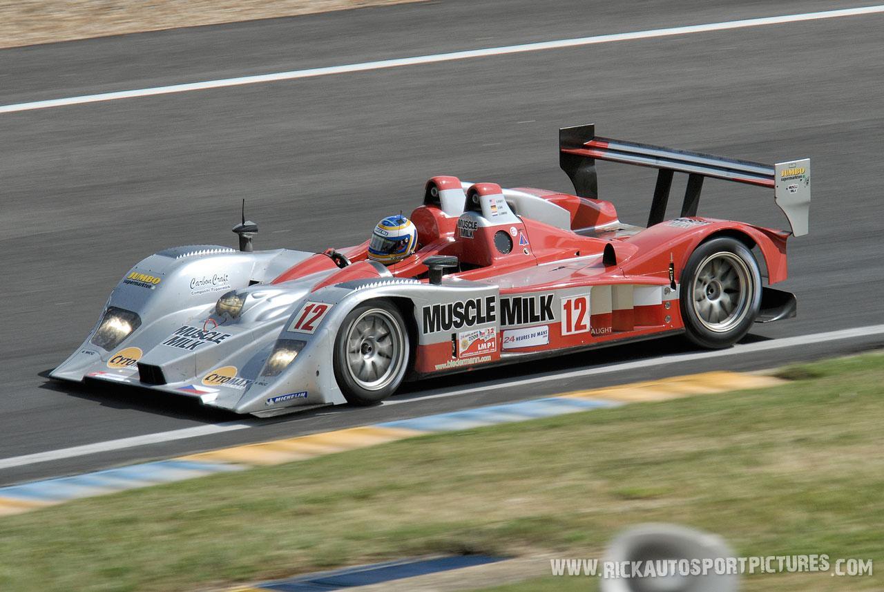Klaus Graf Muscle Milk Le Mans 2008