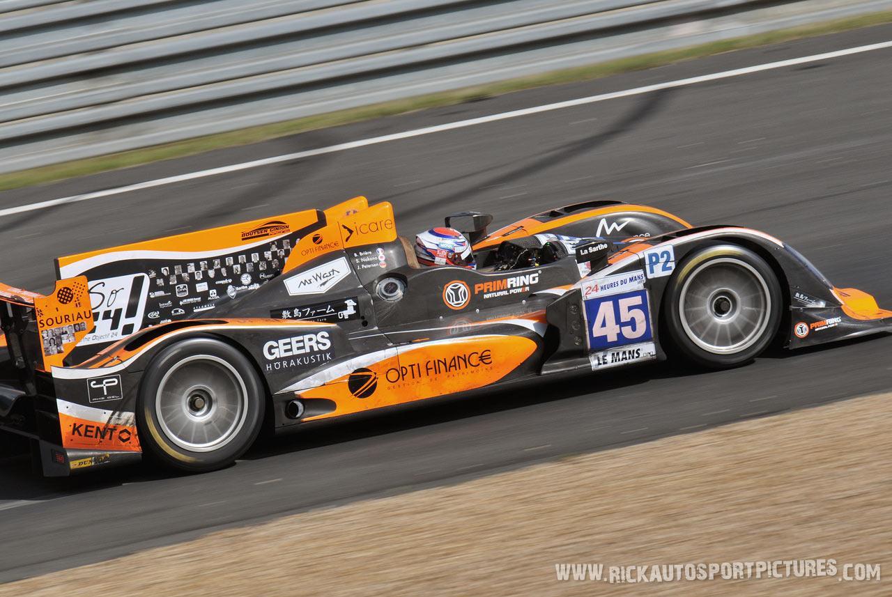 Shinji Nakano Le Mans 2012
