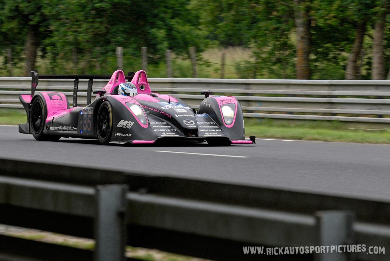 Jan Charouz OAK Racing le mans 2010