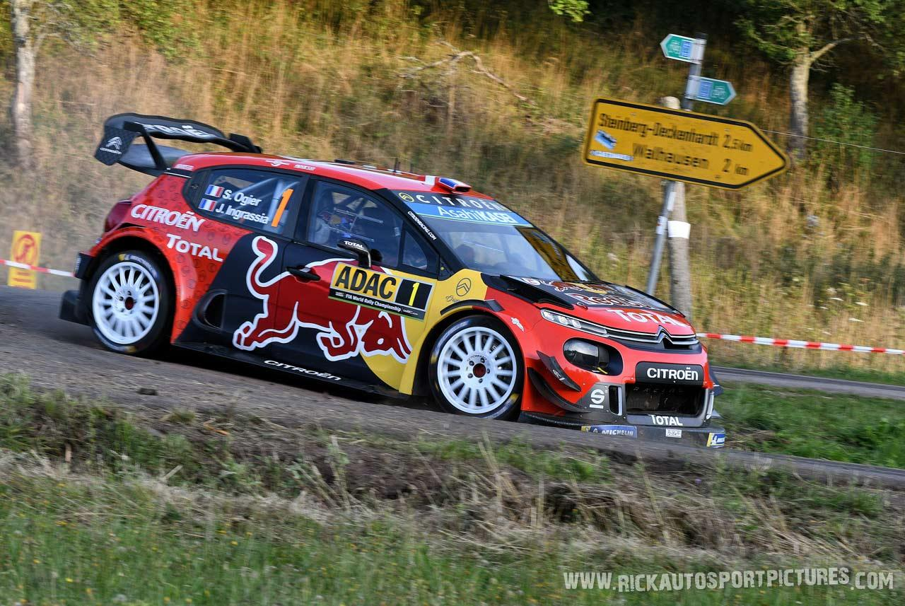 Sebastien Ogier Deutschland Rally 2019