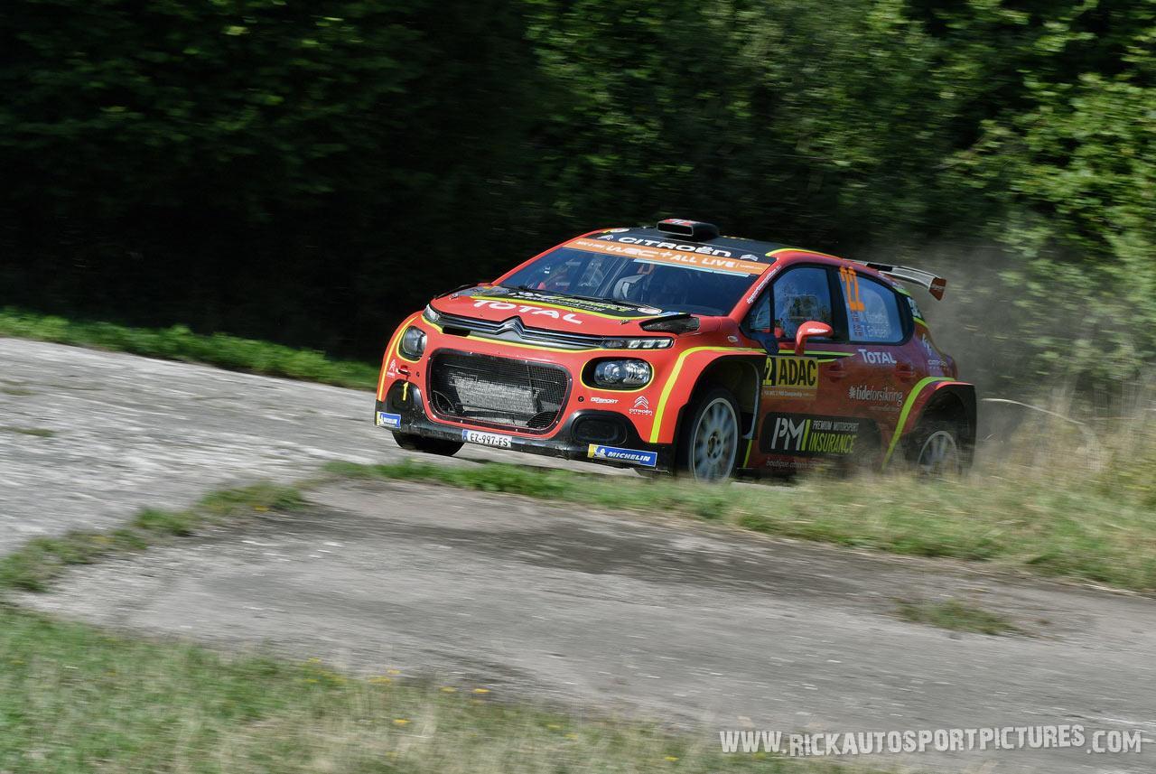 Mads Östberg Deutschland Rally 2019