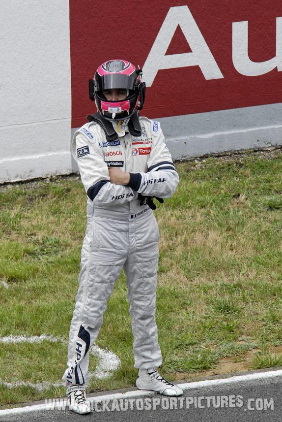Franck Montagny le mans 2010