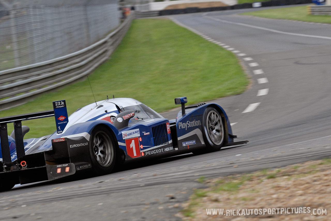 Peugeot Sport le mans 2010