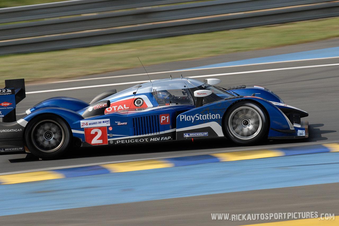 Stephane Sarrazin Peugeot Sport le mans 2010