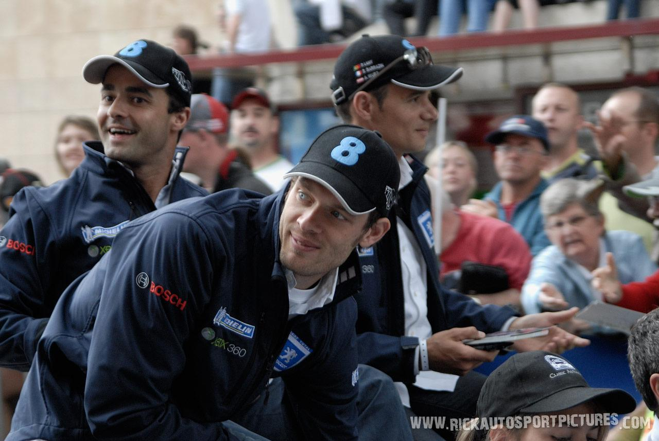 Team Peugeot Parade le mans 2008
