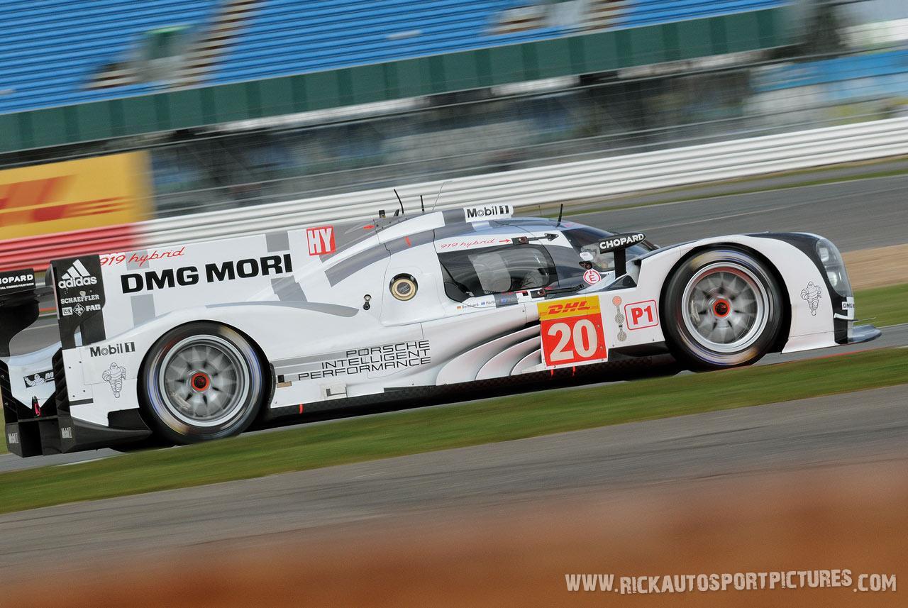 Porsche Team 919 WEC silverstone 2014