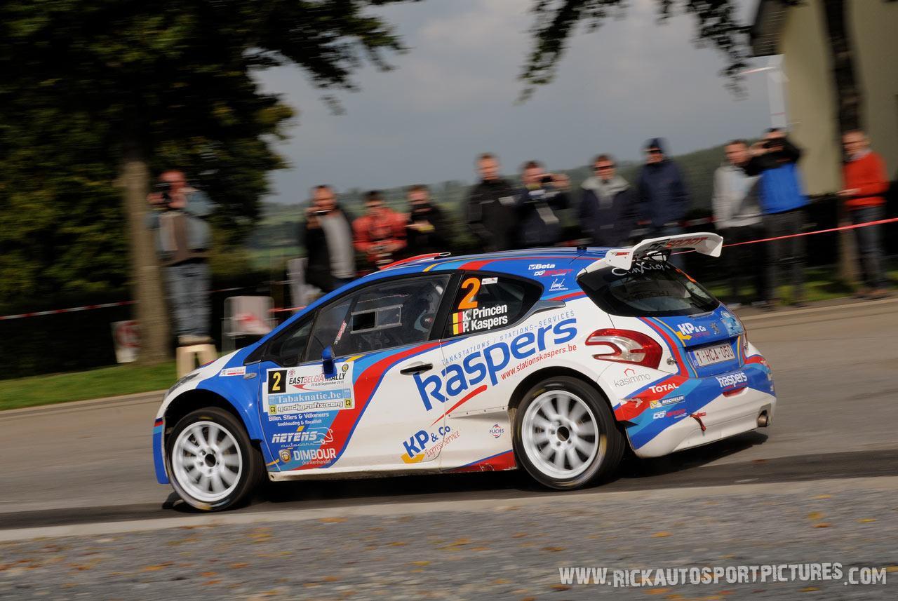 Kris Princen East Belgian Rally 2015